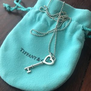Tiffany's Heart Pendant Necklace